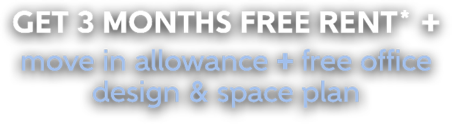 3 months free rent